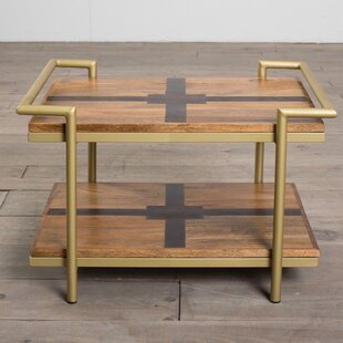Inexpensive Nicolai Deco Coffee Table by Union Rustic