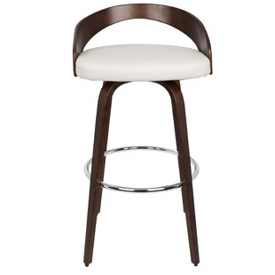 Wright Swivel Counter & Bar Stool by Lang..