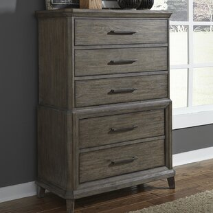 Read Reviews Grigg 5 Drawer Chest by Gracie Oaks