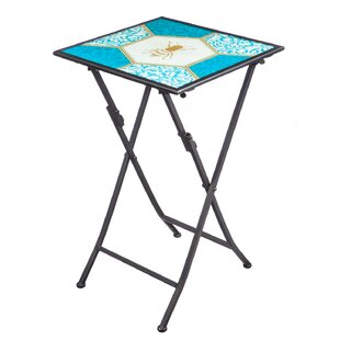 Barnsley Bumblebee Folding Steel Bistro Table