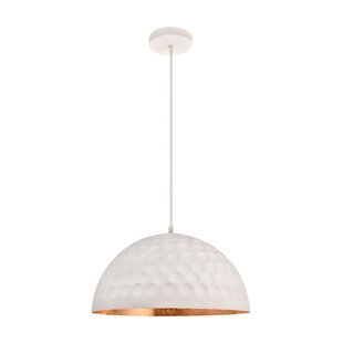 Wrought Studio Reinhold 1-Light Dome Pendant