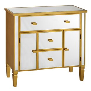 Deshotel 3 Drawer Combi Chest By Bloomsbury Market
