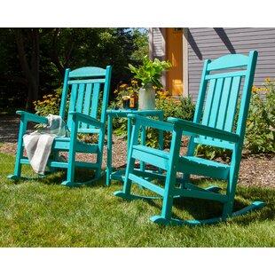 POLYWOOD® Presidential 3-Piece Rocking Chair Set