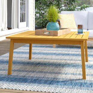Myler Solid Wood Chat Table by Beachcrest Home