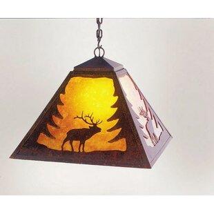 Steel Partners Elk 1-Light Dome Pendant
