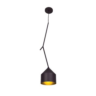 Wrought Studio Gehring Oblong 1-Light Bell Pendant