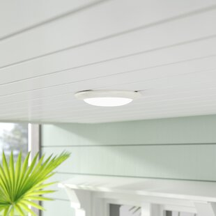 Buy clear Anusha 1-Light LED Flush Mount By Highland Dunes