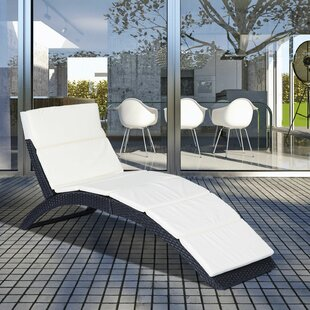 Semple Sun Lounger With Cushion Image