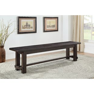 Darby Home Co Sanya Wood Dining Bench