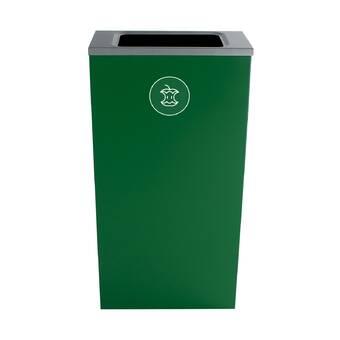 Allied Molded Products Seashore 1 Stream 21 Gallon Recycling Bin Wayfair
