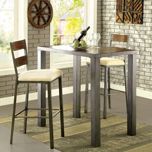 Thurman 3 Piece Pub Table Set ..