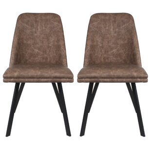 Jefferson Place Upholstered Dining Chair (Set Of 2) By Ebern Designs