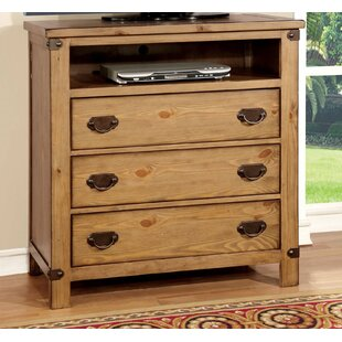 Street 3 Drawer Media Chest