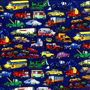 Best Vehicles Galore Toddler Fitted Crib Sheet By Sheetworld