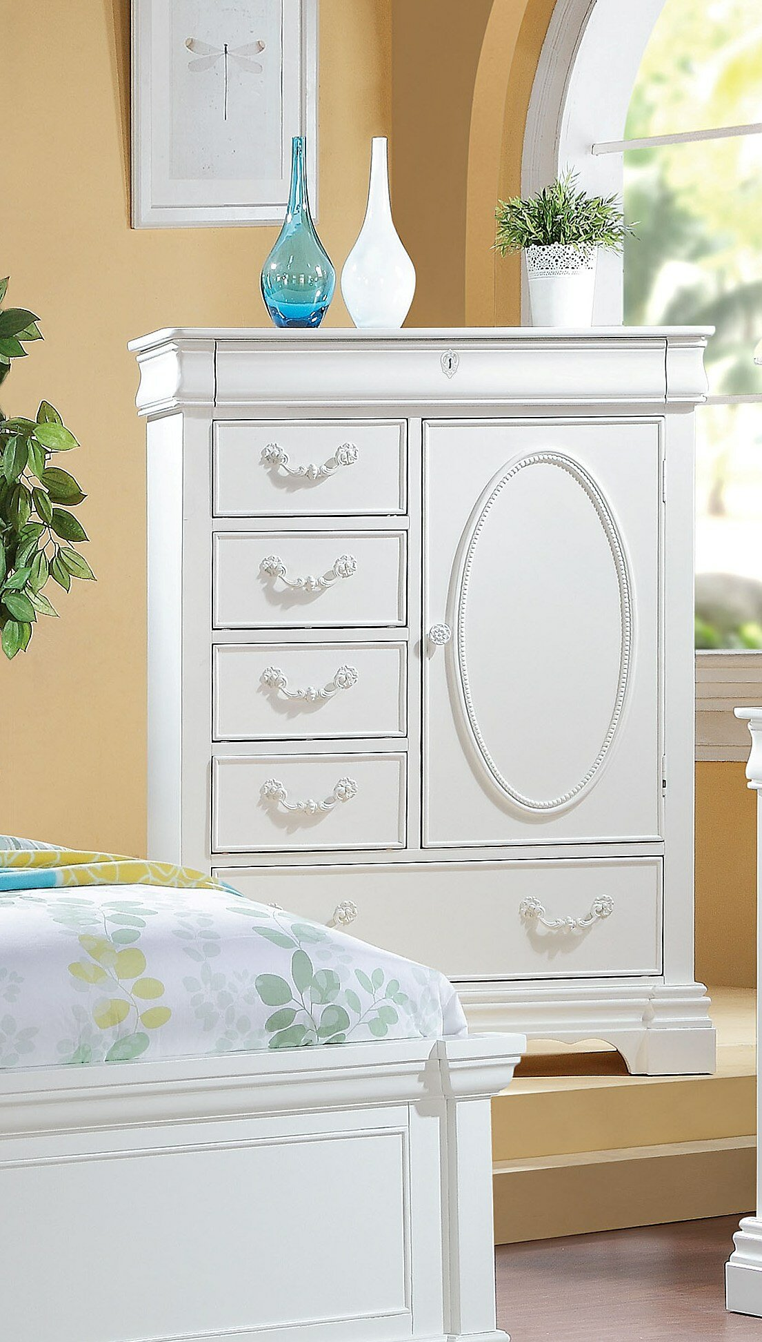 Canora Grey Henricks 6 Drawer Combo Dresser Wayfair