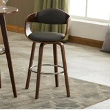 Lirette 28.74 Swivel Bar Stool by George Oliver