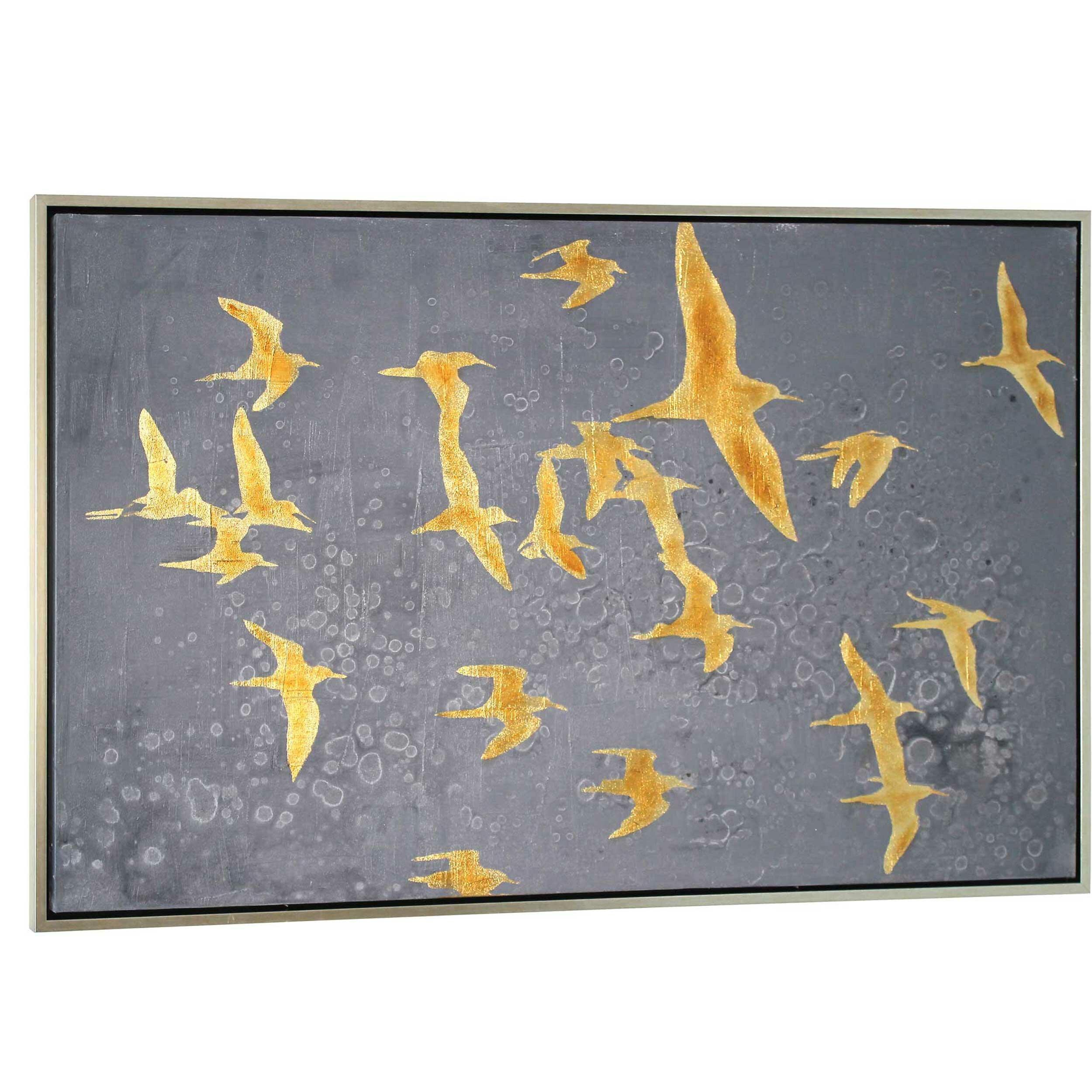 Migration Framed Painting