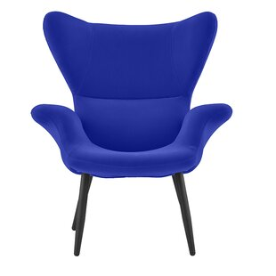Justinich Contemporary Lounge Chair by Ebern Designs