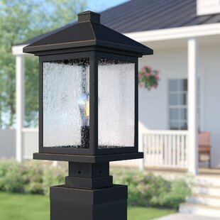 Sol 72 Outdoor Lovette Contemporary Outdoor 1-Light Pier Mount Light