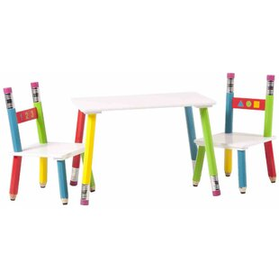 Kids Sitting Set Pencil By Zoomie Kids