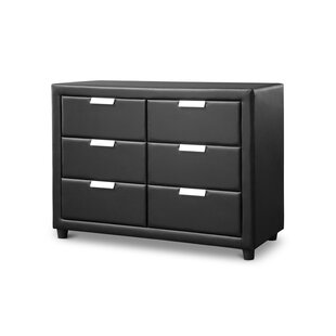 Latitude Run Mizuno 6 Drawer Double Dresser