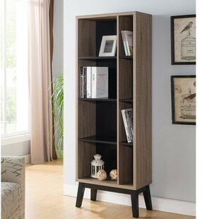 Holt Wooden Display with 4 Shelves Standard Bookcase Wrought Studio
