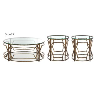 George Living Room 3 Piece Coffee Table Set