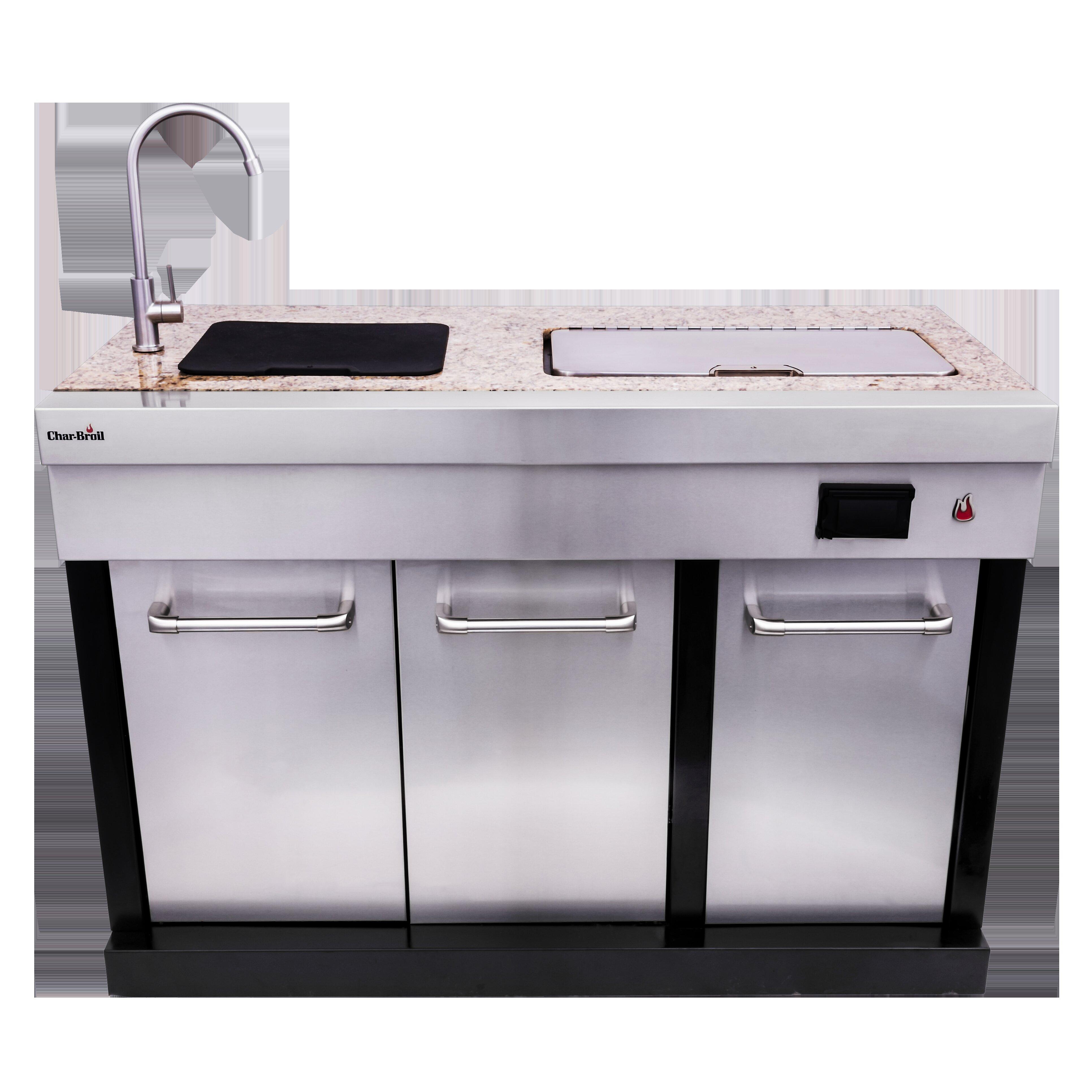 Charbroil Medallion Series Granite 50 Modular Outdoor Kitchen Cabinets Reviews Wayfair