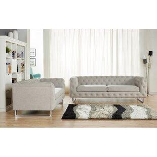 Avoca 2 Piece Living Room Set by Orren Ellis