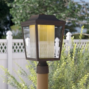 Beedle Outdoor 1-Light LED Post Lantern