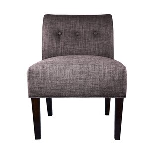MJL Furniture Samantha Button Tufted Slipper Chair
