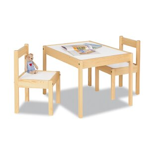 Olaf Children's 3 Piece Table And Chair Set By Pinolino