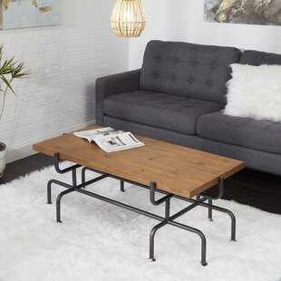 Remillard Metal Pipe Fitting Coffee Table