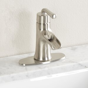 Bathroom Faucets Wayfair waterfall bathroom sink faucets you'll love | wayfair