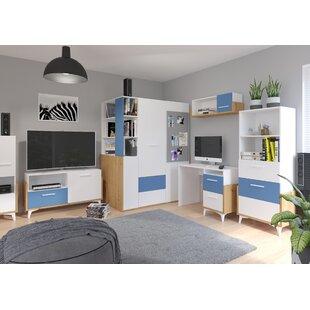 Samson 2-Piece Standard Desk Office Suite By Isabelline