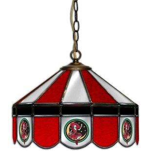 Miller High Life 1-Light Pool Table Lights Pendant by ALL AMERICAN LAMPS