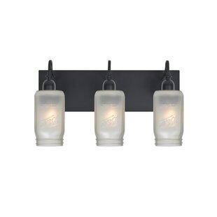 Milo 3-Light Vanity Light by Besa Lighting