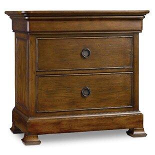 Archivist 2 Drawer Nightstand by Hooker Furniture