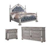 Saravia Standard 3 Piece Bedroom Set by House of Hampton