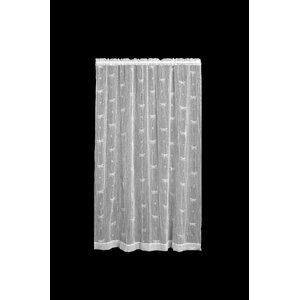 Kelsie Wildlife Sheer Single Curtain Panel