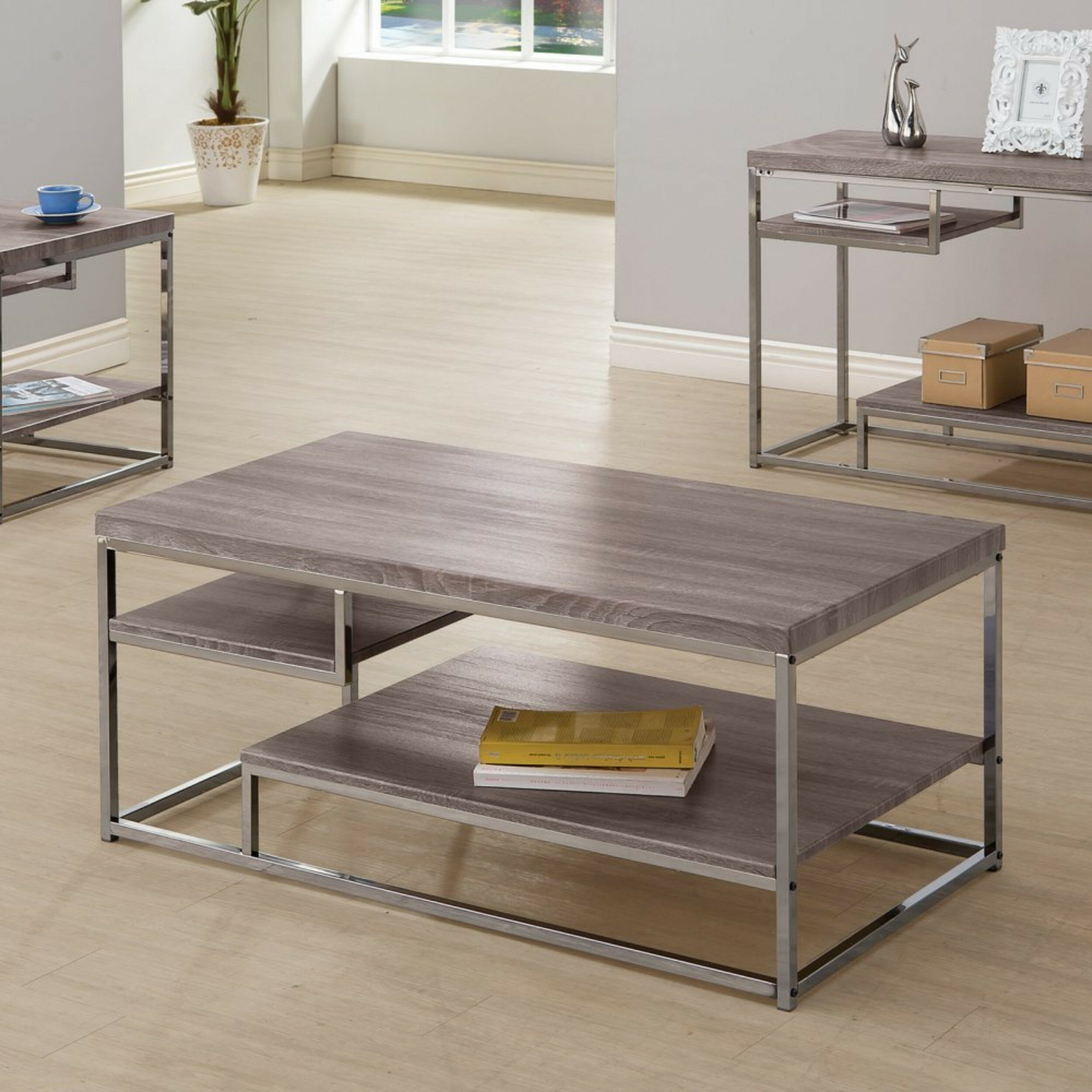 Nederland Contemporary Wooden Console Table