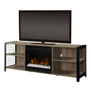 Asher 65 TV with Electric Fireplace by Dimplex