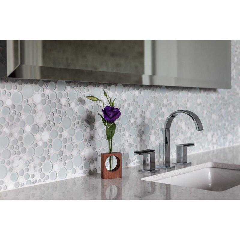 Emser Tile Lucente Circle Mosaic Tile In Ambrato Reviews Wayfair