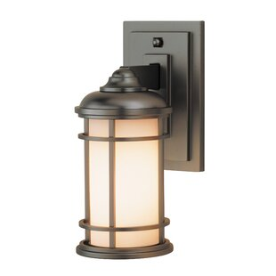 Read Reviews Georgia 1-Light Outdoor Wall Lantern By Latitude Run