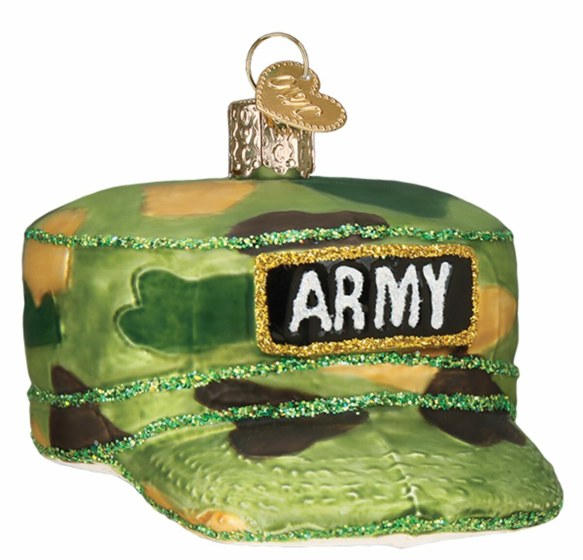 Old World Christmas Army Cap Hanging Figurine Ornament Wayfair