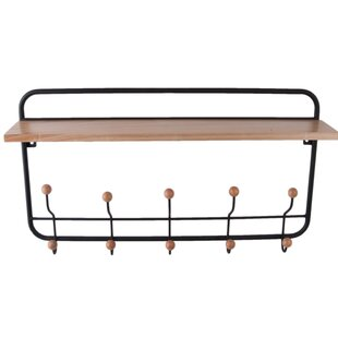 Wall Mounted Coat Rack By Present Time
