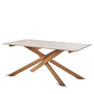 Union Rustic Gokhle Wood Dining Table