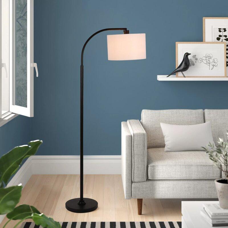 """Nora 10"""" Arc Floor Lamp"""