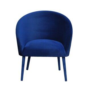Plum Tub Chair By Happy Barok