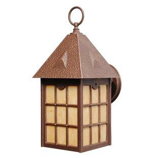 Charlton Home Flannigan Outdoor Wall lantern